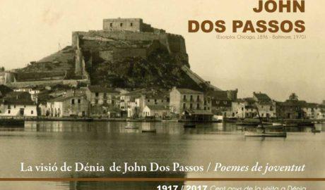 Conferencia de Manuel Vicent sobre la figura y obra de John dos Passos -Dénia-