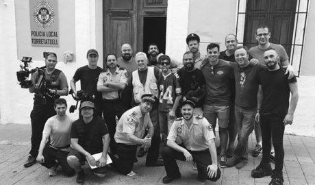 El rodaje de la película 'Rural Cops' se convierte en todo un fenómeno social en Benitatxell