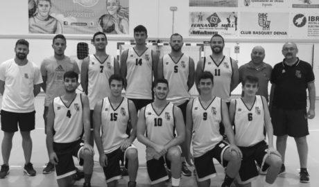 Els dos sèniors del Dénia Bàsquet comencen amb victòria la Lliga Valenciana de pretemporada