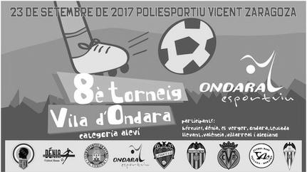 Ondara celebra aquest dissabte l'octava edició del seu torneig de futbol aleví