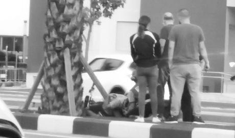 Otro grave accidente de un motorista en Dénia