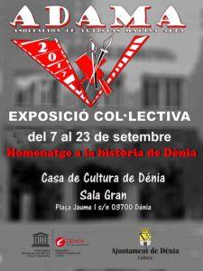 Exposició col·lectiva de pintura: 'Homenatge a la història de Dénia' pels artistes d'Adama -Dénia- @ Sala Gran de la Casa de la Cultura de Dénia | Denia | Comunidad Valenciana | España