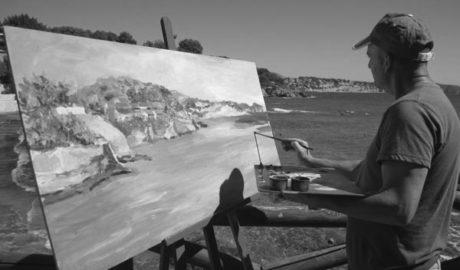 La pintura ràpida envaeix el Passeig Ecològic de Benissa