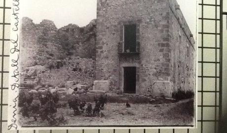 Dénia difunde un poema desconocido de John Dos Passos sobre el Castillo: «De las fuertes y viejas torres…»
