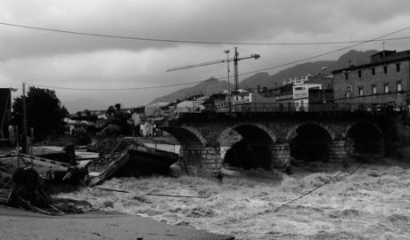 El Verger evoca los diez años de la terrible riada del Girona «para que ni se repita ni se olvide»