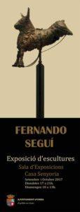 Expocició d'escultures de Fernando Seguí -Orba- @ Casa de la Senyoria d'Orba