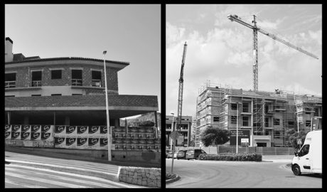 El gran contraste de Xàbia: De los edificios que la crisis dejó a medio hacer al aluvión de nuevas viviendas