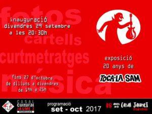 EXposició: '20 anys de Toca-la Sam' -Pedreguer- @ Casal Cultural Jaume I de Pedreguer