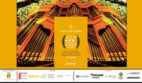 Concierto del Coro de La Rectoria, J.V. Giner y cuatro solistas vocales. XXI Festival Internacional d'Orgue -Pedreguer-