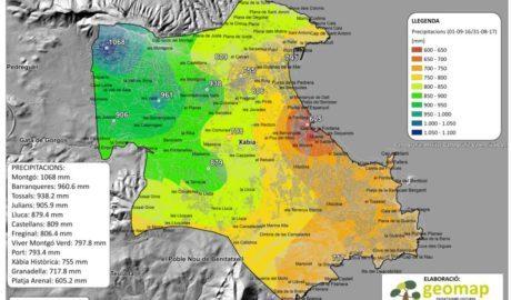 Los misterios de la lluvia en Xàbia