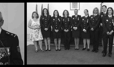 El comisario Antonio Cabeza ante su jubilación y las mujeres policía, protagonistas en el día de los Ángeles Custodios en Dénia