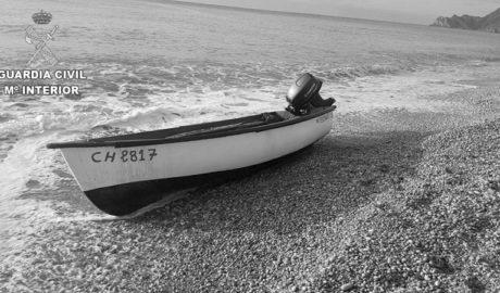 Cuarta patera hallada en las costas de la Marina Alta, ahora en Benissa