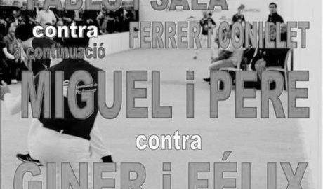 """Vuelve la pilota valenciana al Trinquet de Pedreguer con dos partidas muy """"marineras"""""""