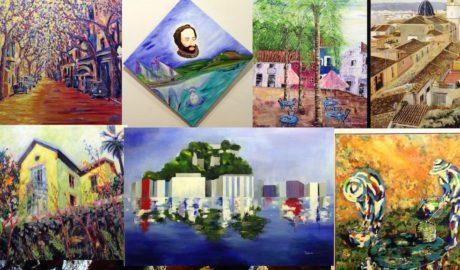 Com han retratat 16 pintors els dos mil anys d'història de Dénia