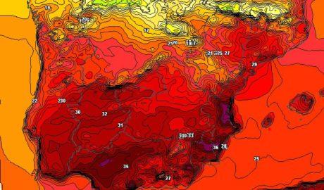 Cambio drástico del tiempo en 24 horas: de calor y poniente a lluvias y bajón del termómetro