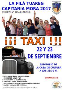 Teatro: ¡¡¡Taxi!!! de Ray Cooney por la Filà Tuareg -Calp- @ Auditorio - Casa de Cultura, Calp