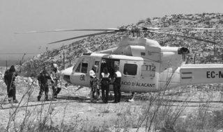 Salvado un excursionista que corría riesgo de despeñarse por un acantilado de Xàbia
