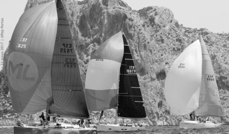 """La Federación de Vela espera """"romper los registros"""" en el autonómico de cruceros que se realiza en Dénia"""