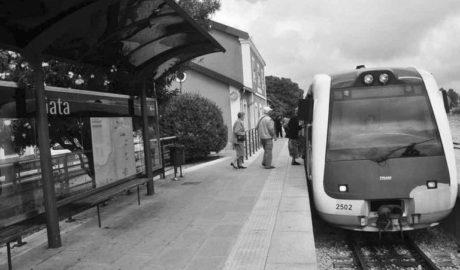 El Consell prevé ubicar el segundo tranvía de la Marina Alta en Gata, después del que ya está previsto para Dénia