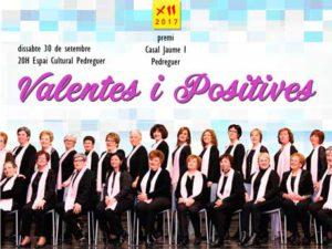Lliurament del Premi 2017 del Casal Cultural Jaume I Pedreguer al Col·lectiu Valentes i Positives -Pedreguer- @ Espai Cultural, Pedreguer