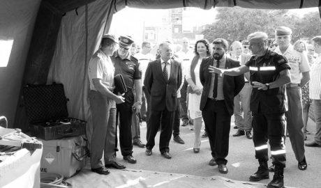 Diez años de la riada del Girona: Homenaje a los cuerpos de salvamento y toque de atención a la administración