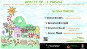 Mercat de la Foradà: productes de proximitat, contacontes i taller infantild'il·lustració -Vall de la Gallinera- @ Vall de Gallinera