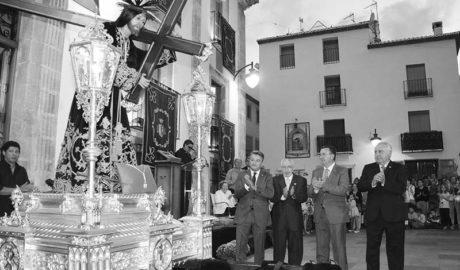 Tots els alcaldes de Xàbia, reunits pel Natzarè