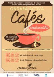 II edició del cicle 'Cafés emprenedors': xerrada de José Gilabert -Ondara- @ Casa de Cultura d'Ondara