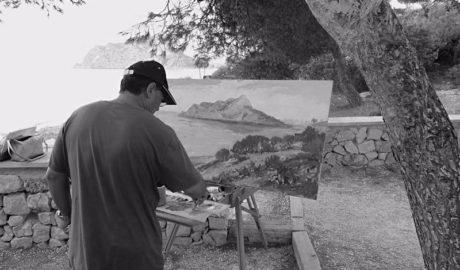 [GALERÍA] Benissa celebra la VI Trobada d'Art a la Mar entre mar y pinos