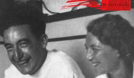 El recuerdo de dos brigadistas internacionales en Benissa ya es eterno
