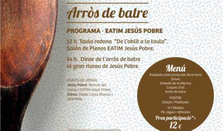II Encuentro Gastronómico del 'Arròs Caldós': mesa redonda y degustación -Jesús Pobre-