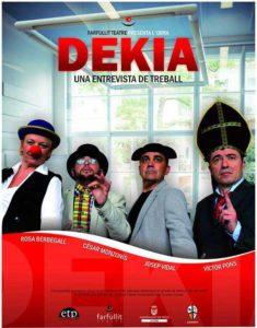 Teatre: 'Dekia. L'entrevista de treball' per Farfullit Teatre -L'Atzúbia- @ Centre Cultural, L'Atzúbia