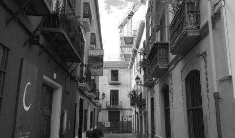 [LA FOTO] Reiniciadas las obras para acabar el centro cultural en la calle Sant Josep de Dénia