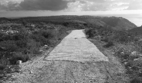 Xàbia: Abren pistas de hormigón en la Granadella para un acceso rápido en caso de incendio