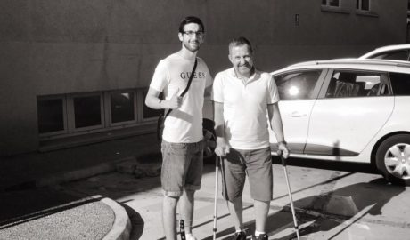 El ciclista de Xàbia que seguía ingresado por el atropello de Oliva regresa a casa 5 meses después