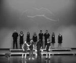 Els alumnes de l'Escola Municipal de Teatre de Teulada es guanyen al públic de l'Auditori amb 'Besos'