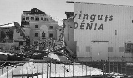 Más cambios en el paisaje portuario de Dénia