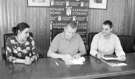 El pavelló municipal d'Ondara, seu del programa de tecnificació de la Federació de Bàsquet de la Comunitat