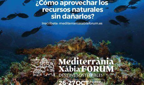 Mediterrania Xàbia Forum: Foro sobre turismo y destinos sostenibles -Xàbia-