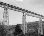 El pont ferroviari del Molí del Quisi a Benissa, en una exposició de patrimoni industrial a Espanya