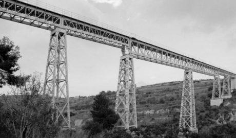 El puente ferroviario del Quisi en Benissa, en una exposición de patrimonio industrial en España