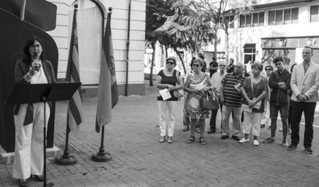 """[9 d'Octubre] La conmemoración PP (y C's) en Dénia: """"Somos y seremos españoles"""""""