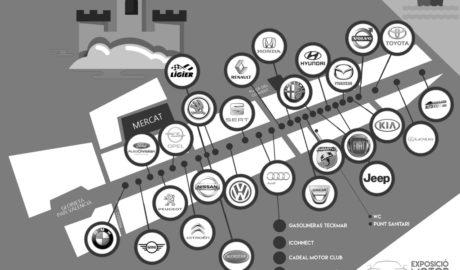La calle Campo se llenará con más de 300 coches con la Expo Motor Dénia