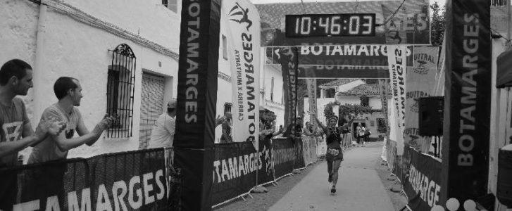 Miguel Ángel Soriano i Ángela Pizarro guanyen el Botamarges, el trail més important de la comarca que travessa cinc localitats