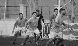 Un mal inici de partit provoca que el Calp CF perda a casa contra l'Almoradí