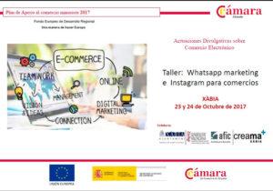Taller gratuito: 'Whatsapp marketing e Instagram para comercios -Xàbia- @ Portal del Clot