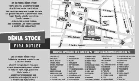 Casi 70 comercios de Dénia sacarán sus productos a la calle La Via en una nueva Feria del Stock