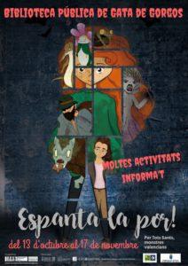 'L'hora del conte': 'Campanya espanta la por' -Gata de Gorgos- @ Biblioteca de Gata de Gorgos