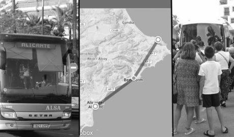 Una altra odissea més: el turment del viatge amb autobús Alacant-Dénia