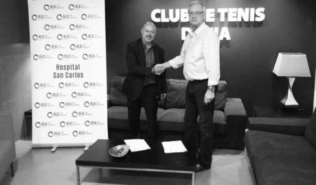 HLA San Carlos renueva su patrocinio con el Club de Tenis de Dénia